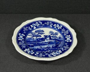 Spode's Tower Blue Soup plate
