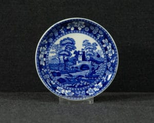 Spode's Tower Blue Side Plate