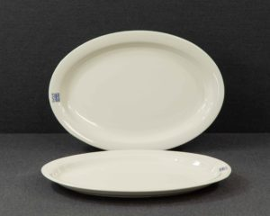 An Arabia Finland Arctica Set of Two Oval Platters.