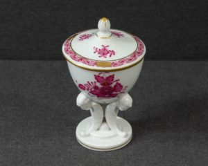 A Herend Hungary Apponyi Purple Chalice.