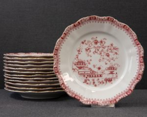 Theresia Red dinner Plate