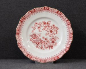 Seltmann Theresia Red Breakfast Plate