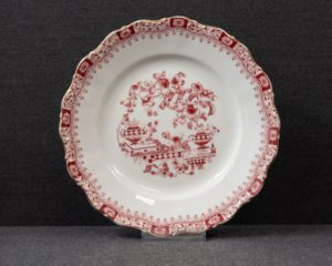 Seltmann Theresia Red Lunch Plate
