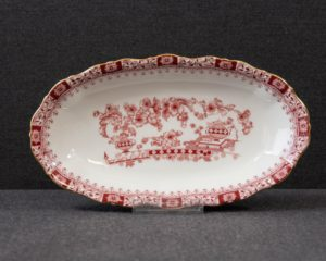 Seltmann Theresia Red oval serving dish