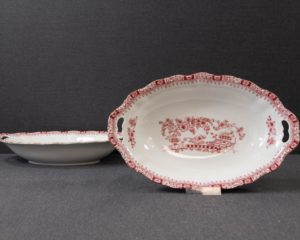 Seltmann Theresia Red oval serving bowl