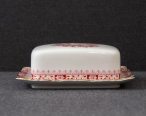 Seltmann Theresia Red butter dish