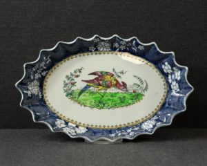 Copeland late Spode exotic bird pattern oval serving dish