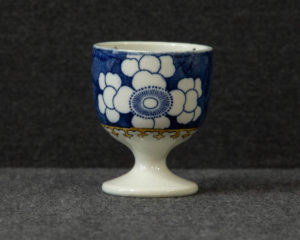 Copeland late Spode exotic bird pattern egg cup
