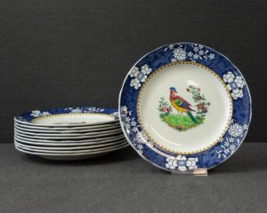 Copeland Late Spode exotic bird pattern lunch plate