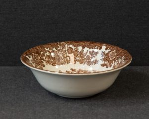 A Royal Worcester / Pallisy Avon Scenes Brown Cereal Bowl.