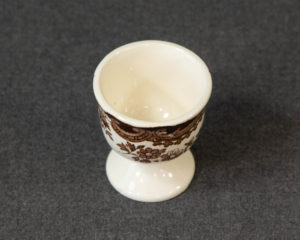 A Royal Worcester / Pallisy Avon Scenes Brown Egg Cup.