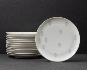Thomas Blue Rose Lunch Plate