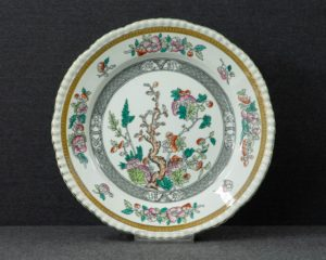 An Adams Indian Tree Lunch Plate.