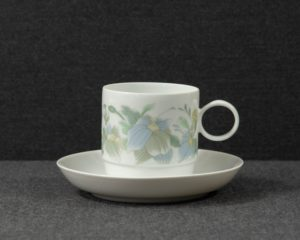 A Rosenthal Studio-Line Duo 'Loire' Coffee Cup and Saucer.