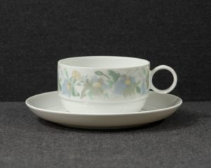 A Rosenthal Studio-Line Duo 'Loire' Teacup and Saucer.